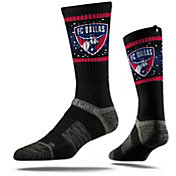Strideline FC Dallas Black Crew Socks