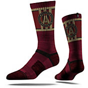 Strideline Atlanta United Maroon Crew Socks
