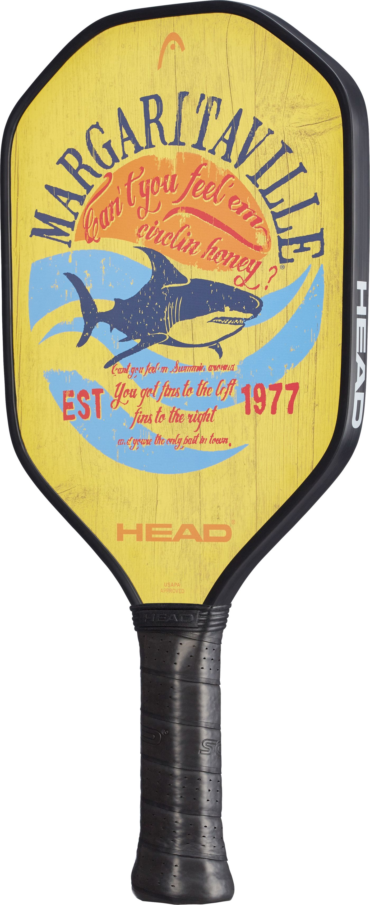 Head Fins Pickleball Paddle