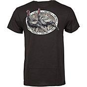 Heybo Men's Bottomland Turkeys Short Sleeve T-Shirt