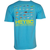 Heybo Men's Fish Chart Short Sleeve T-Shirt