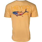 Heybo Men's Patriotic Tuna Short Sleeve T-Shirt