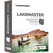Humminbird Lakemaster Western States Map Card