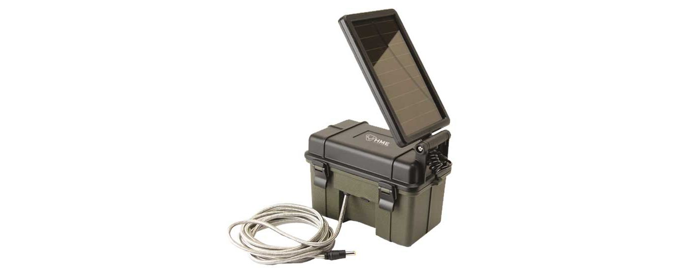 HME Trail Camera 12v Solar Auxiliary Power Pack