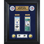 Highland Mint Toronto Blue Jays World Series Deluxe Gold Coin & Ticket Collection