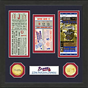 Highland Mint Atlanta Braves World Series Ticket Collection