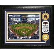 Highland Mint Milwaukee Brewers Dirt Coin Photo Mint