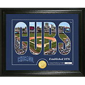 Highland Mint Chicago Cubs Silhouette Photo Mint