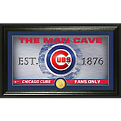 Highland Mint Chicago Cubs Man Cave Panoramic Bronze Coin Photo Mint
