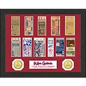 Highland Mint St. Louis Cardinals World Series Ticket Collection