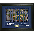 Highland Mint Los Angeles Dodgers Silhouette Photo Mint