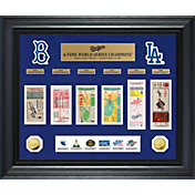 Highland Mint Los Angeles Dodgers World Series Deluxe Gold Coin & Ticket Collection