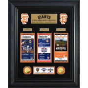 Highland Mint San Francisco Giants World Series Deluxe Gold Coin & Ticket Collection