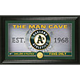 Highland Mint Oakland Athletics Man Cave Panoramic Bronze Coin Photo Mint