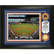 Highland Mint Miami Marlins Dirt Coin Photo Mint