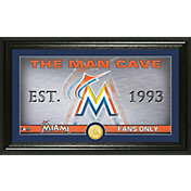 Highland Mint Miami Marlins Man Cave Panoramic Bronze Coin Photo Mint