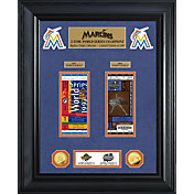 Highland Mint Miami Marlins World Series Deluxe Gold Coin & Ticket Collection