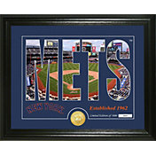 Highland Mint New York Mets Silhouette Photo Mint