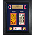 Highland Mint Cleveland Indians World Series Deluxe Gold Coin & Ticket Collection