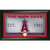 Highland Mint Los Angeles Angels Man Cave Panoramic Bronze Coin Photo Mint