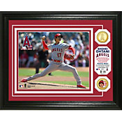 Highland Mint Los Angeles Angels Shohei Ohtani Pitching Debut Bronze Coin Photo Mint