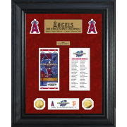 Highland Mint Los Angeles Angels World Series Deluxe Gold Coin & Ticket Collection