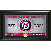 Highland Mint Washington Nationals Man Cave Panoramic Bronze Coin Photo Mint