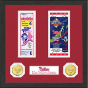 Highland Mint Philadelphia Phillies World Series Ticket Collection