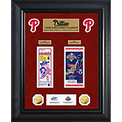 Highland Mint Philadelphia Phillies World Series Deluxe Gold Coin & Ticket Collection