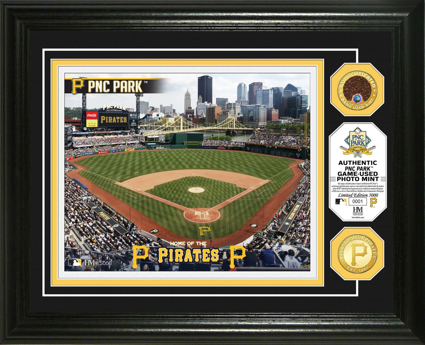 Highland Mint Pittsburgh Pirates Dirt Coin Photo Mint