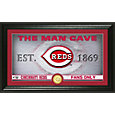 Highland Mint Boston Red Sox Man Cave Panoramic Bronze Coin Photo Mint