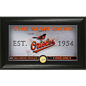 Highland Mint Baltimore Orioles Man Cave Panoramic Bronze Coin Photo Mint