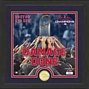 Highland Mint 2018 World Series Champion Boston Red Sox 'Damage Done' Bronze Coin Supreme Photo Mint