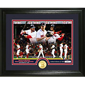 "Highland Mint Boston Red Sox ""Single Season Franchise Wins Record Breaker"" Bronze Coin Photo Mint"
