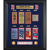 Highland Mint Boston Red Sox World Series Deluxe Gold Coin & Ticket Collection