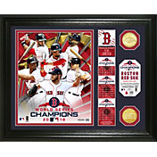 "Highland Mint 2018 World Series Champions Boston Red Sox ""Banner"" Bronze Coin Photo Mint"
