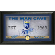 Highland Mint Kansas City Royals Man Cave Panoramic Bronze Coin Photo Mint