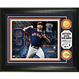 Highland Mint Houston Astros Justin Verlander Bronze Coin Photo Mint