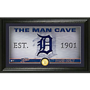 Highland Mint Detroit Tigers Man Cave Panoramic Bronze Coin Photo Mint