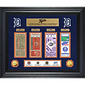 Highland Mint Detroit Tigers World Series Deluxe Gold Coin & Ticket Collection