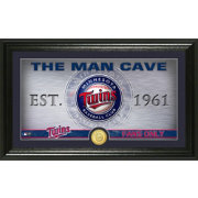 Highland Mint Minnesota Twins Man Cave Panoramic Bronze Coin Photo Mint