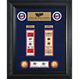 Highland Mint Minnesota Twins World Series Deluxe Gold Coin & Ticket Collection