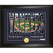 Highland Mint New York Yankees Silhouette Photo Mint