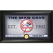 Highland Mint New York Yankees Man Cave Panoramic Bronze Coin Photo Mint