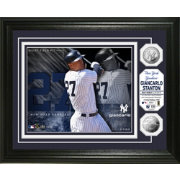 Highland Mint New York Yankees Giancarlo Stanton Silver Coin Photo Mint