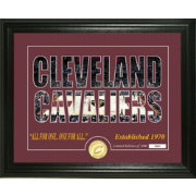 Highland Mint Cleveland Cavaliers Silhouette Photo Mint
