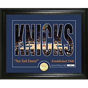 Highland Mint New York Knicks Silhouette Photo Mint
