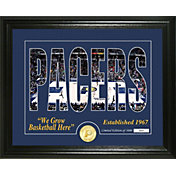 Highland Mint Indiana Pacers Silhouette Photo Mint