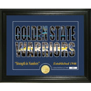 Highland Mint Golden State Warriors Silhouette Photo Mint