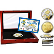 Highland Mint 2018 NBA Champions Golden State Warriors Two-Tone Mint Coin